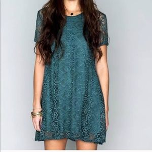 Show Me Your Mumu Nicks Babydoll Lava Lace Teal